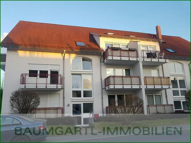 Dresden-Weißig - in guter und zentraler Lage 2 Zimmerwohnung mit Balkon und Tiefgaragenst... - Bild 1