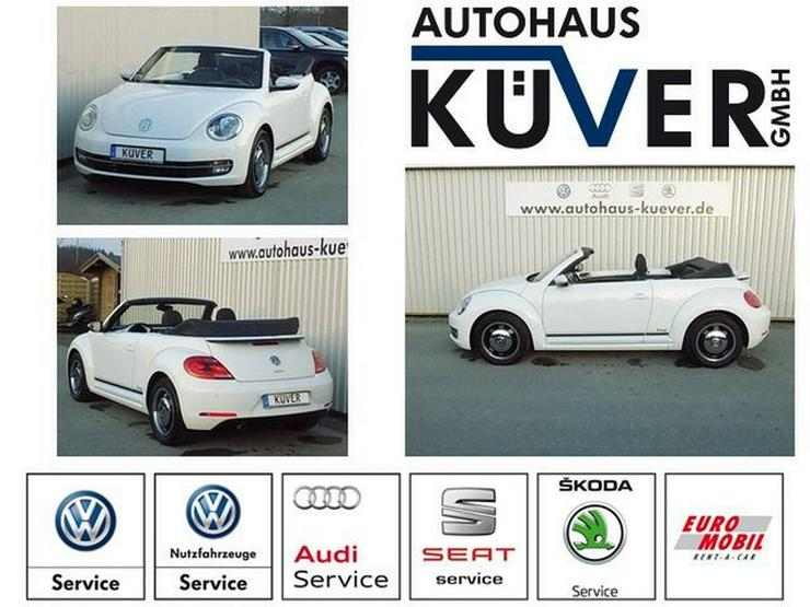 VW Beetle Cabrio 1,2 TSI DSG Cup Sitzheizung PDC - Bild 1