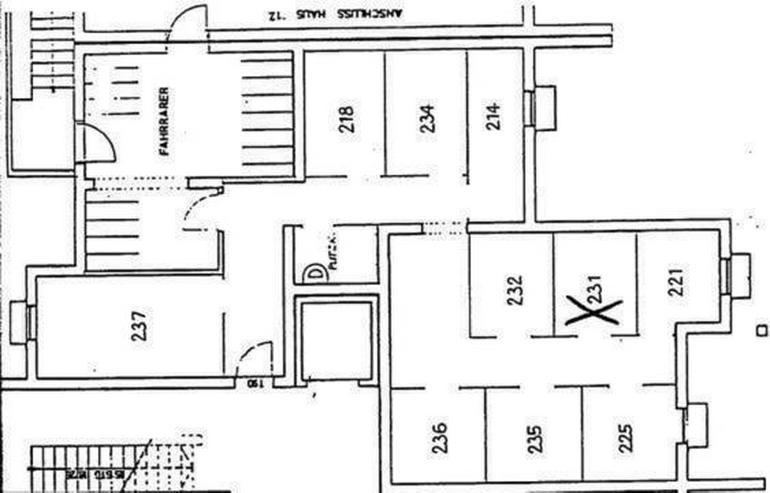 Bild 2: Jetzt wieder da! - Schöne 2-Zimmer-ETW mit Balkon mit PKW-Stellplatz - Prov.-Frei