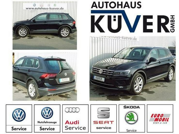 VW Tiguan 1,4 TSI Highline DSG Leder Pano LED AHK