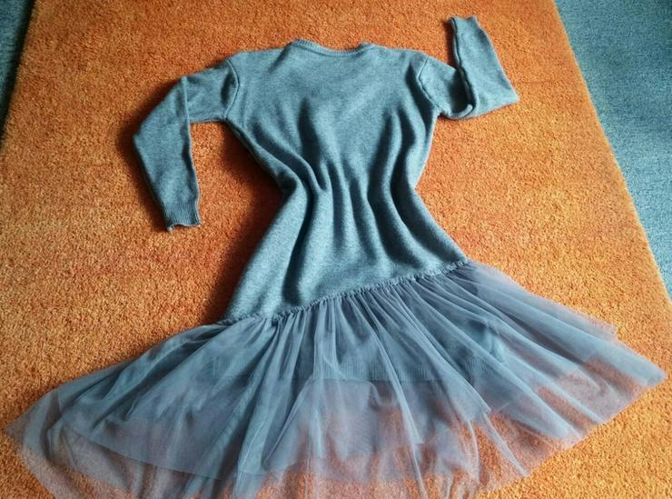 Bild 2: NEU Damen Kleid Winter Wollstrick Glitzer Gr.S