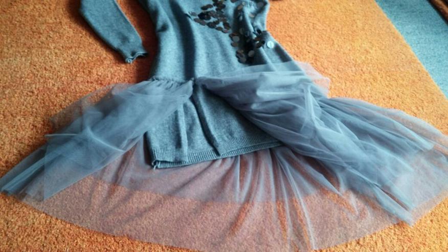 Bild 3: NEU Damen Kleid Winter Wollstrick Glitzer Gr.S