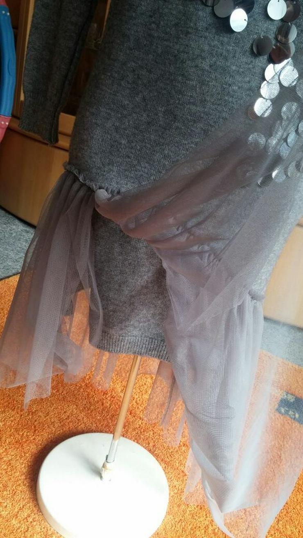 Bild 5: NEU Damen Kleid Winter Wollstrick Glitzer Gr.S