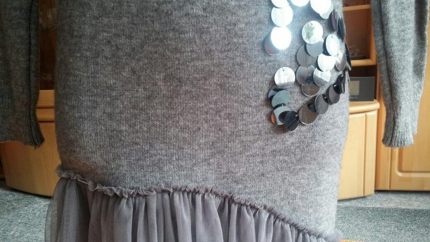 Bild 6: NEU Damen Kleid Winter Wollstrick Glitzer Gr.S