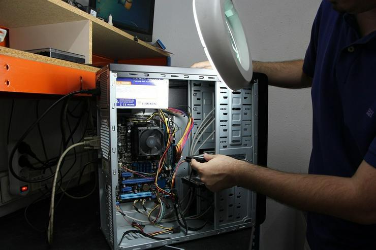 Computer Aufrüsten vom PC Profi vor Ort!