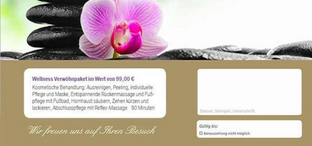 Bild 5: Verwöhnpacket Massage- Fußpflege-Kosmetik