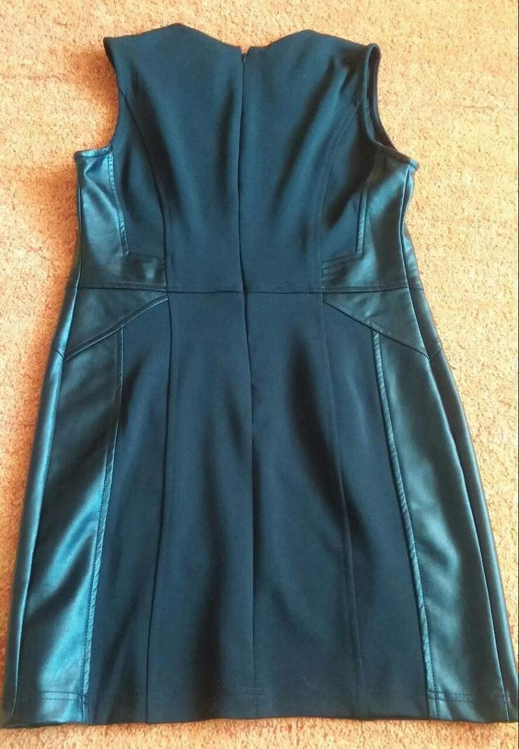 Bild 4: Damen Kleid extravagante Silber PerlenGr.3(38)