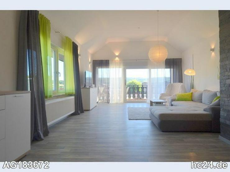 Schön möblierte 2-Zimmer-Wohnung mit Balkon und WLAN in Hünstetten-Beuerbac - Bild 1