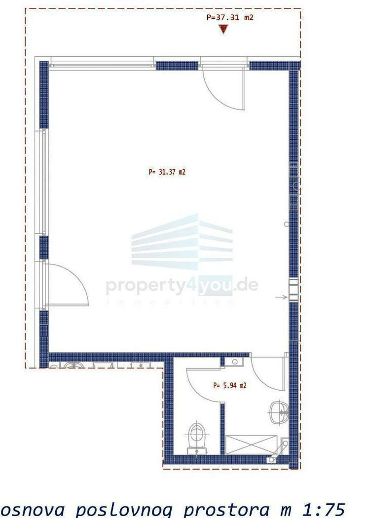 Gewerbeobjekt zu Verkaufen - Neubau in Banja Luka - Bild 1