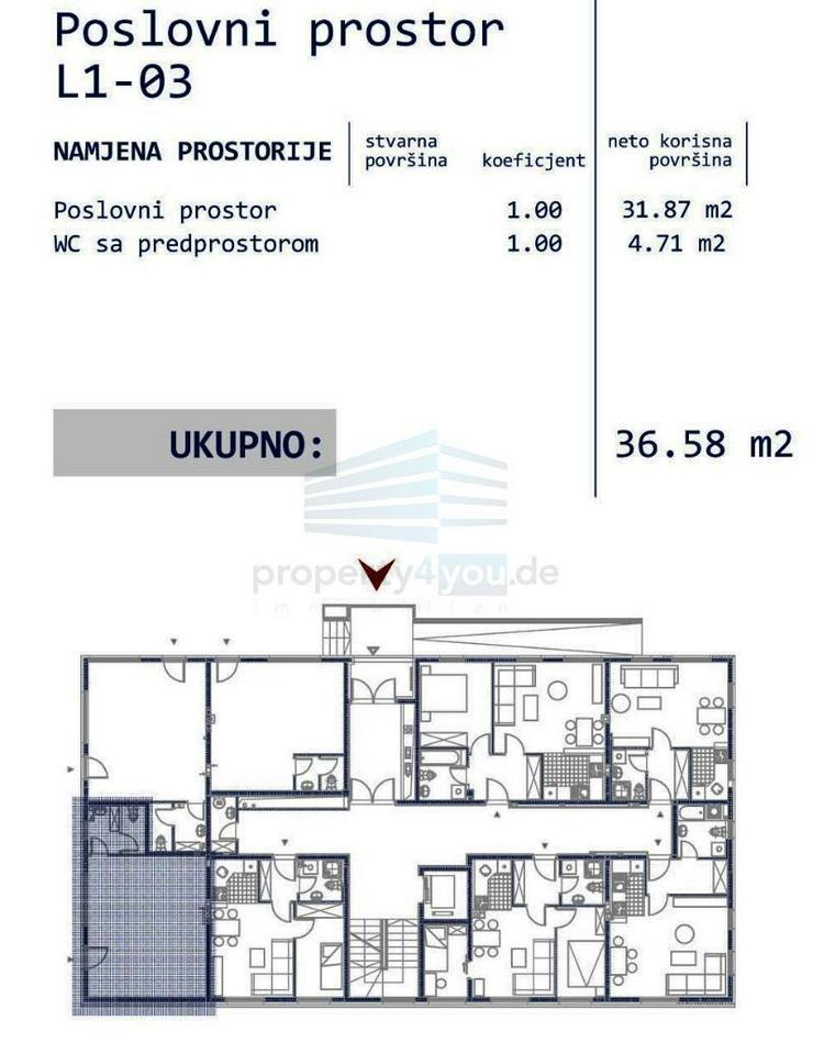 Bild 6: Gewerbeobjekt zu Verkaufen - Neubau in Banja Luka