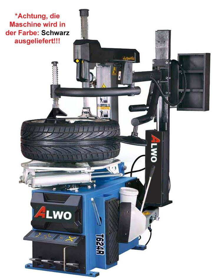 Alwo Montiermaschine T624R AUTOMATIK Hilfsarm
