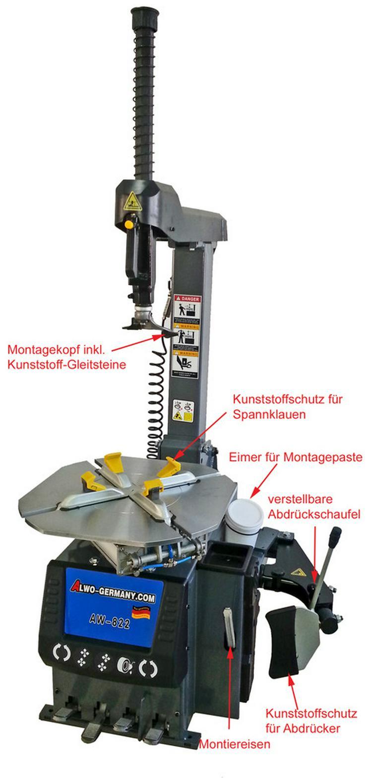 Alwo Montiermaschine AW-822 AUTOMATIK  24 Zoll