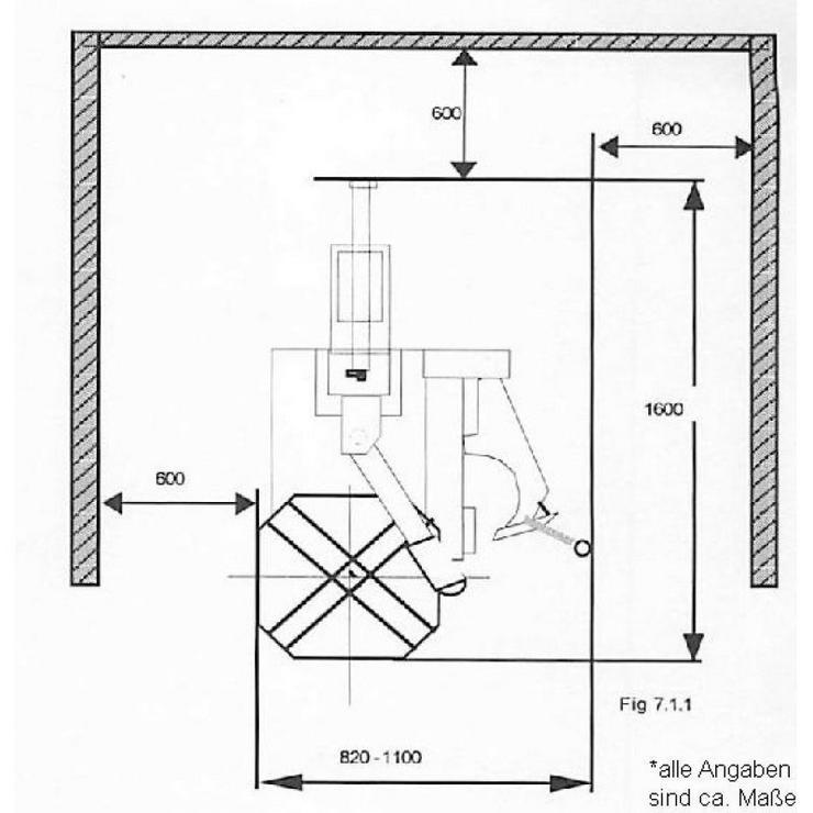 Bild 3: Alwo Montiermaschine AW-822 AUTOMATIK  24 Zoll