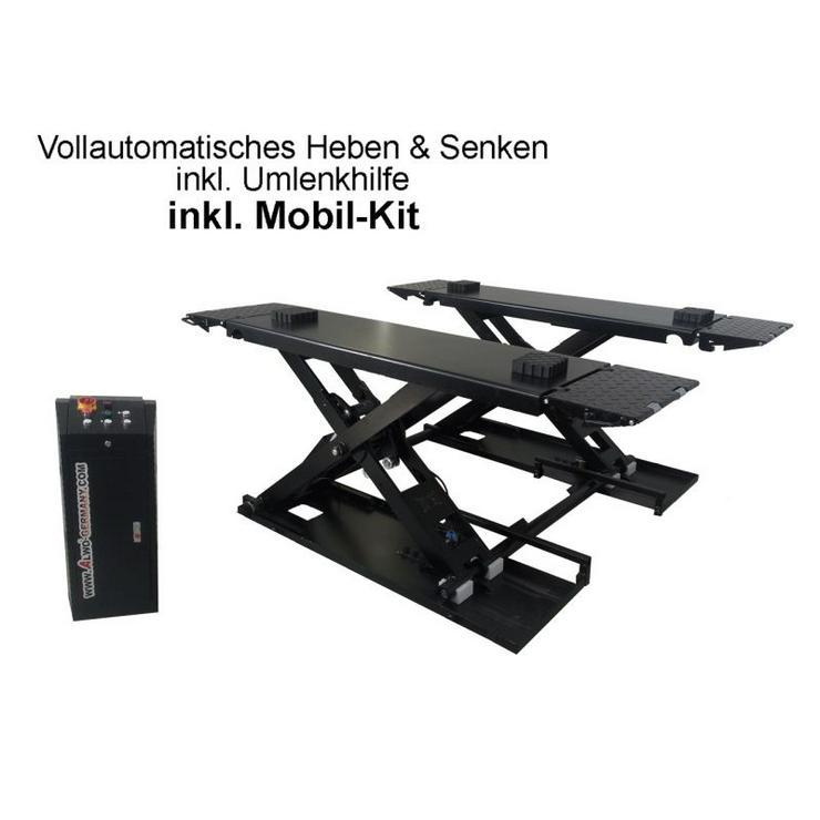 Alwo Scherenhebebühne 3T Umlenkilfe Mobil-Kit