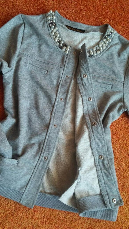 Bild 2: NEU Damen Jacke Perlen Glitzer edel Des Gr.M