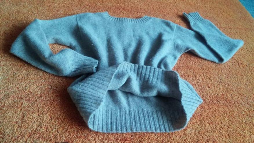 Bild 2: Damen Pullover Woll-Strick edel Gr.M