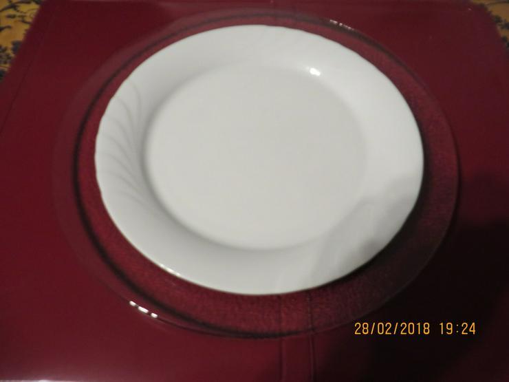 Bild 2: 4 Platzteller, Glas