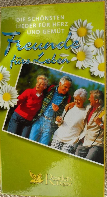 Musikcassetten 3 Stck Freunde fürs Leben.