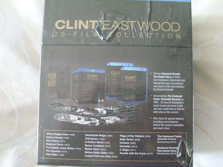 Bild 3: Clint Eastwood 20 Blue Ray Film Collection NEU