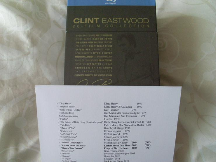 Bild 4: Clint Eastwood 20 Blue Ray Film Collection NEU