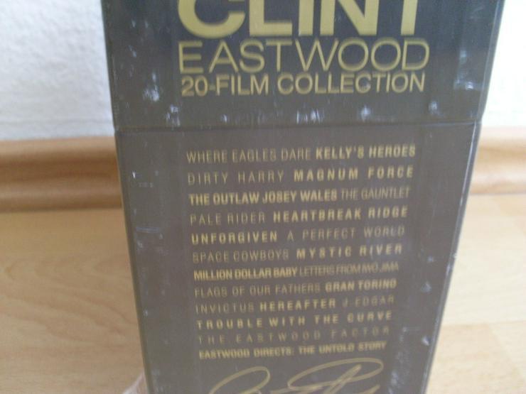Bild 2: Clint Eastwood 20 Blue Ray Film Collection NEU