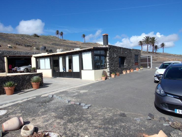 Einmalige Finca 10.000 qm mit großen Haus  in la Asomada Lanzarote