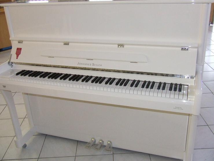 Johannes Seiler Klavier 122 T weiß poliert - Klaviere & Pianos - Bild 1
