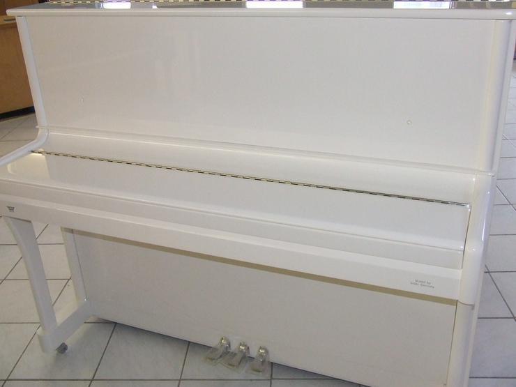 Bild 2: Johannes Seiler Klavier 122 T weiß poliert
