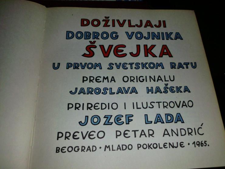 Bild 2: Soldat Schweik v. Jozef lada 1965  € 15 +