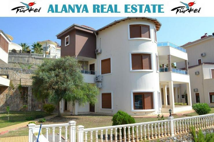 Duplex Wohnung voll möbliert in Alanya Kargicak zu vermieten
