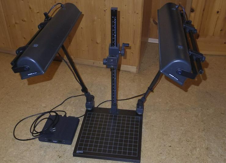 Reproständer mit Beleuchtungseinrichtung
