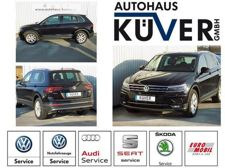 VW Tiguan 2,0 TDI Highline DSG Leder AHK - Tiguan - Bild 1