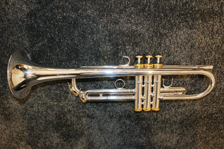 B Trompete versilbert Modell OPERA