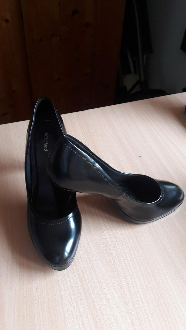 Bild 4: Schwarze High-Heels / Hohe Schuhe von Graceland