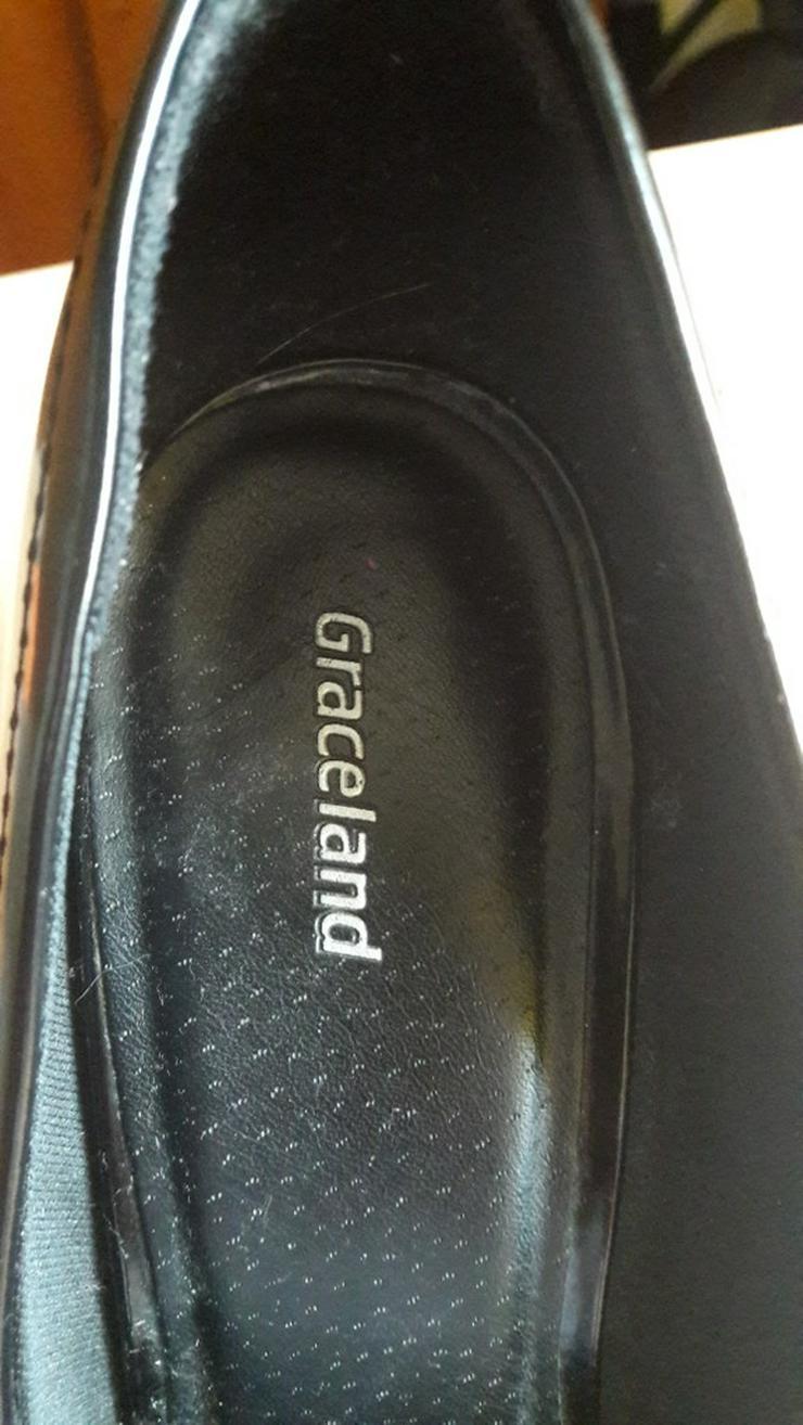 Bild 5: Schwarze High-Heels / Hohe Schuhe von Graceland