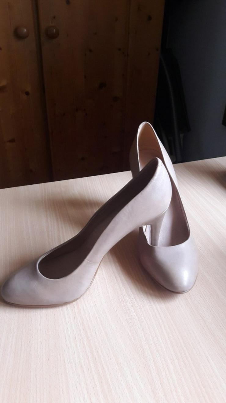 Bild 3: Beige High-Heels / Hohe Schuhe von 5th Avenue