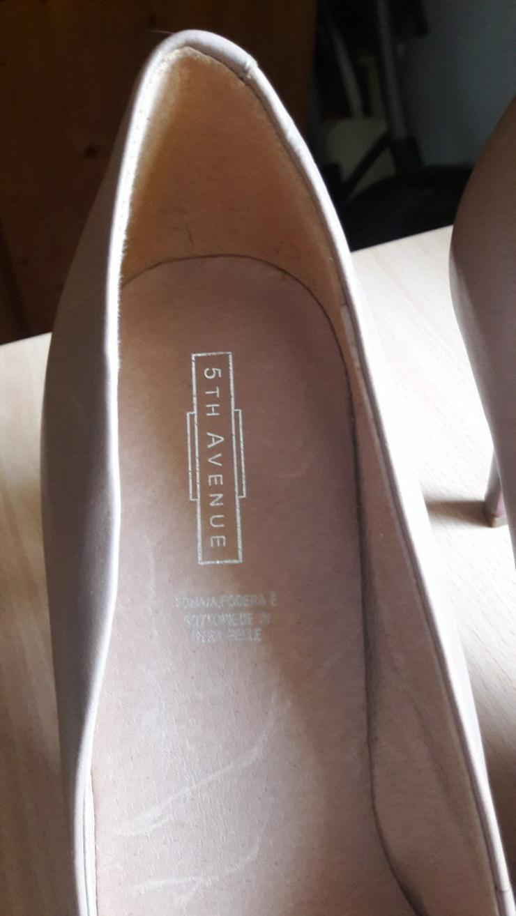 Bild 5: Beige High-Heels / Hohe Schuhe von 5th Avenue