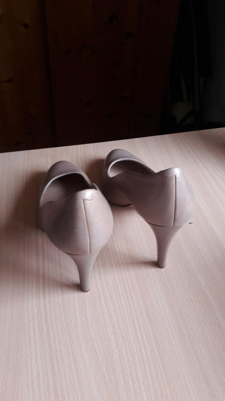 Bild 6: Beige High-Heels / Hohe Schuhe von 5th Avenue