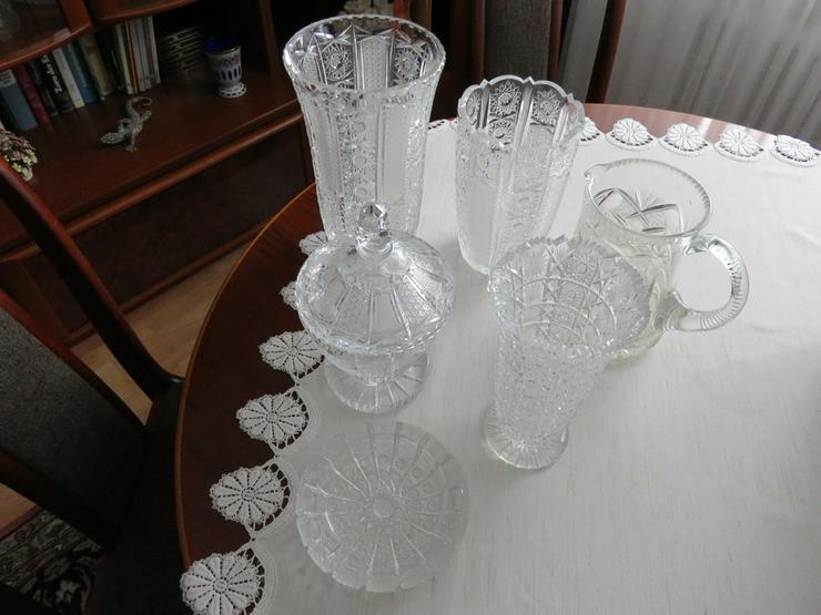 Vasen usw. Bleikristall handgeschliffen Böhmen