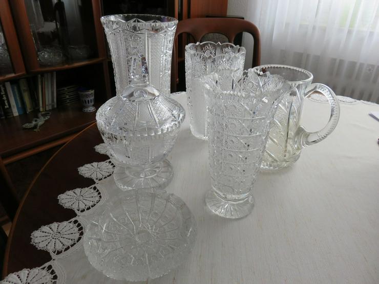 Bild 2: Vasen usw. Bleikristall handgeschliffen Böhmen