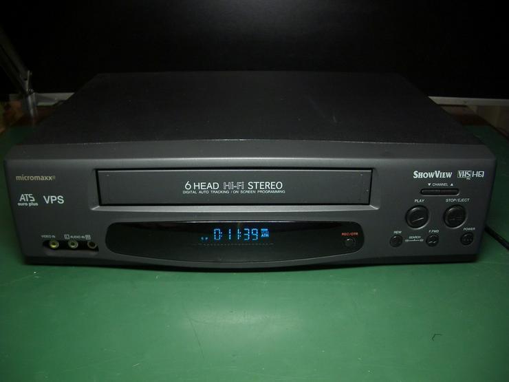 Bild 2: Micromaxx MM 8916 HiHi   VHS 6 Kopf HI-FI-Ster