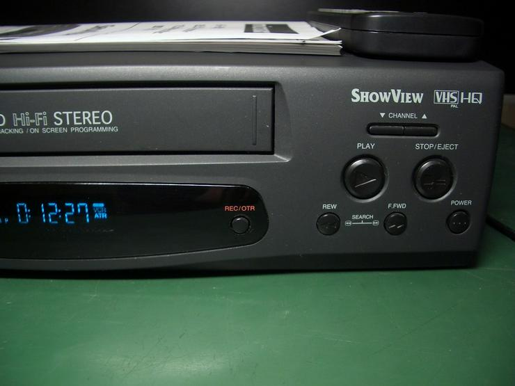 Bild 4: Micromaxx MM 8916 HiHi   VHS 6 Kopf HI-FI-Ster
