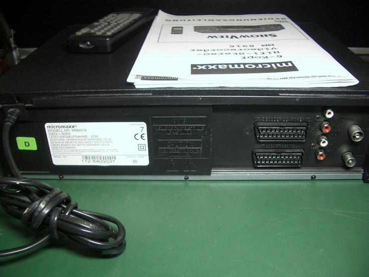Bild 5: Micromaxx MM 8916 HiHi   VHS 6 Kopf HI-FI-Ster
