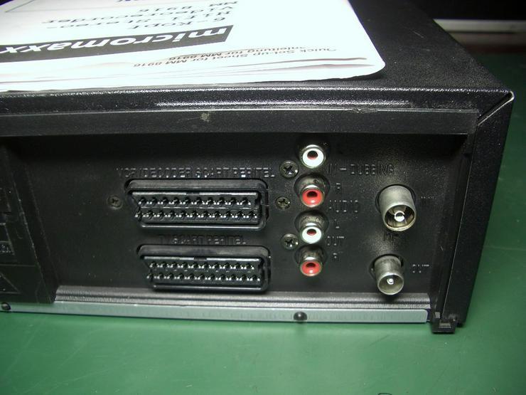 Bild 6: Micromaxx MM 8916 HiHi   VHS 6 Kopf HI-FI-Ster