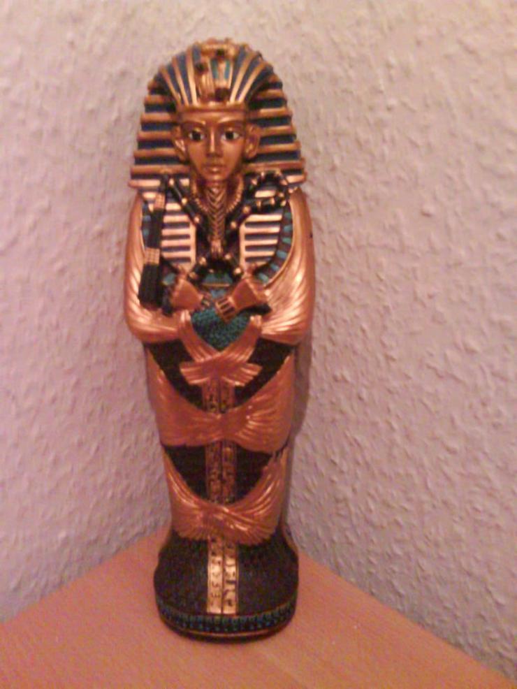 Tutanchamun Figur-Alten Ägyptens(Goldlegierung)