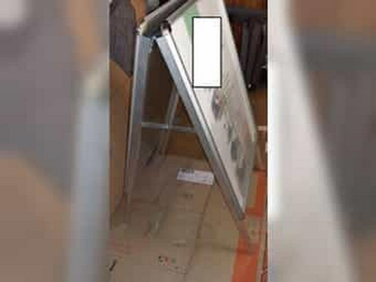 Bild 4: Kundenstopper Werbeschild beidseitig A1