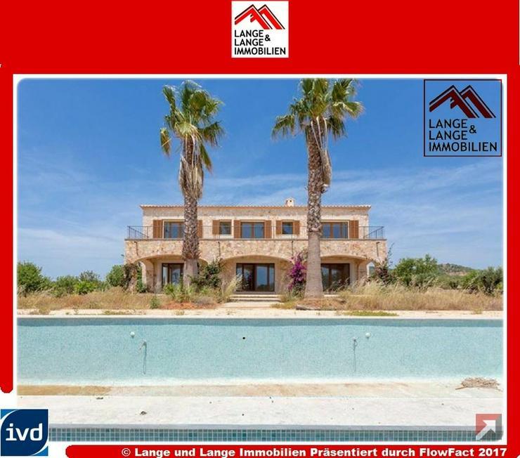 Mallorca - Alqueria Blanca - Neubau Natursteinfinca mit Panoramablick - Spanien Immobilien