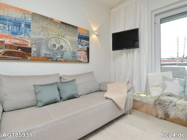 Möblierte 3-Zimmer Wohnung mit Dachterrasse, Internet und Reinigungsservice in Wiesbaden