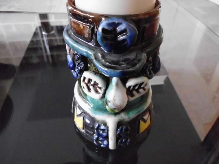 Bild 3: Kerzenständer (keramik) € 20