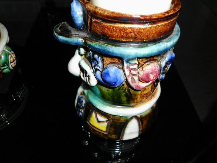 Bild 4: Kerzenständer (keramik) € 20